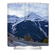 Kendall Mountain Morning Shower Curtain