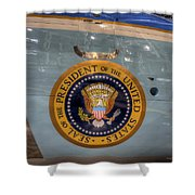 Kennedy Air Force One Shower Curtain