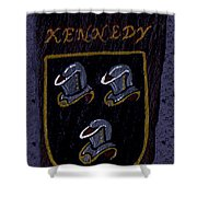 Kennedy Crest Shower Curtain