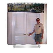Kennedy Meadows Mural Shower Curtain