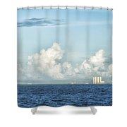 Kennedy Space Center Shower Curtain