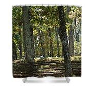 Kennesaw Battlefield Mountain Shower Curtain