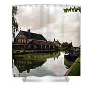 Kennett Amd Avon Canal Uk Shower Curtain