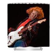 Kenny Wayne Shepherd Rocks His Stratocaster Shower Curtain