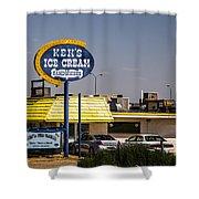 Ken's Ice Cream Sandwiches Shower Curtain