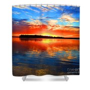 Kensington Sunset Shower Curtain
