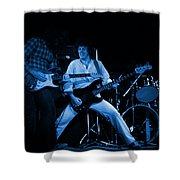Kent #123 In Blue Shower Curtain