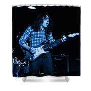 Kent #136 In Blue Shower Curtain