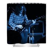 Kent #23 Crop 2 In Blue Shower Curtain