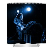 Kent #83 In Blue Shower Curtain