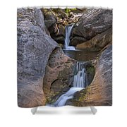Kent Falls Hdr 2 Shower Curtain