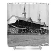 Kentucky Derby, 1901 Shower Curtain