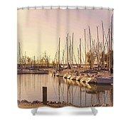 Kentucky Lake Sail Boats Shower Curtain