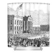 Kentucky Louisville, 1861 Shower Curtain