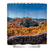 Kentucky - Natural Arch Scenic Area Shower Curtain