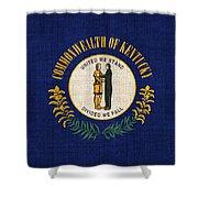 Kentucky State Flag Shower Curtain