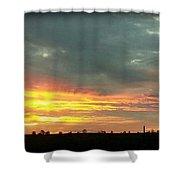Kentucky Sunrise  Shower Curtain