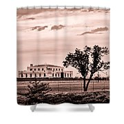 Kentucky - United States Bullion Depository Fort Knox Shower Curtain