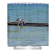 Kenyan Fishermen Shower Curtain