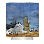 Kenyon Brothers Dairy Shower Curtain