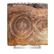 Kerbstone Spiral Shower Curtain