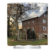 Kerr Grist Mill At Sloan Park Shower Curtain