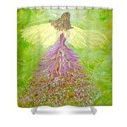 Kerry Angel  Shower Curtain