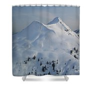 Ketchikan Shower Curtain by Camilla Brattemark