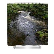 Ketchikan River Shower Curtain