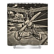 Kettering Aerial Torpedo Bug Shower Curtain