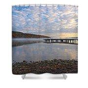 Keuka Dawn Shower Curtain