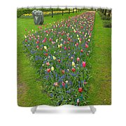 Keukenhof Gardens 26 Shower Curtain