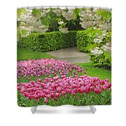 Keukenhof Gardens 35 Shower Curtain