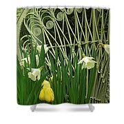 Keukenhof Gardens 45 Shower Curtain