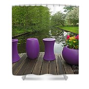 Keukenhof Gardens 47 Shower Curtain