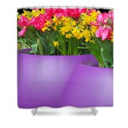 Keukenhof Gardens 48 Shower Curtain