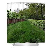 Keukenhof Gardens Panoramic 10 Shower Curtain