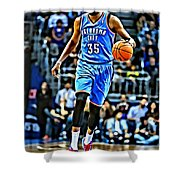 Kevin Durant Shower Curtain