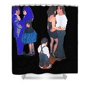 Kevin Howard's Wedding Dancers Tucson Arizona 1990-2012 Shower Curtain