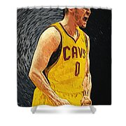 Kevin Love  Shower Curtain