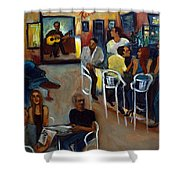 Kevro's Art Bar Shower Curtain