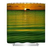 Key Largo Sundown Shower Curtain