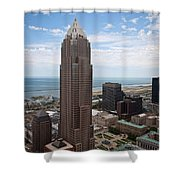 Key Tower Shower Curtain