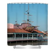 Key West Grill Shower Curtain