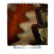 Key West Lighthouse Lens Shower Curtain