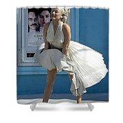 Key West Marilyn Shower Curtain