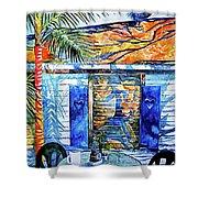 Key West Still Life Shower Curtain