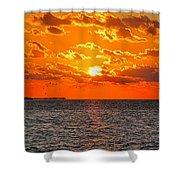 Key West Sunset 11 Shower Curtain