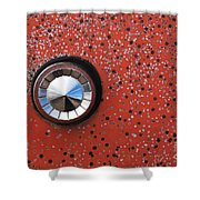 Keyhole Cover Shower Curtain