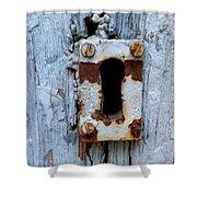 Keyhole Shower Curtain